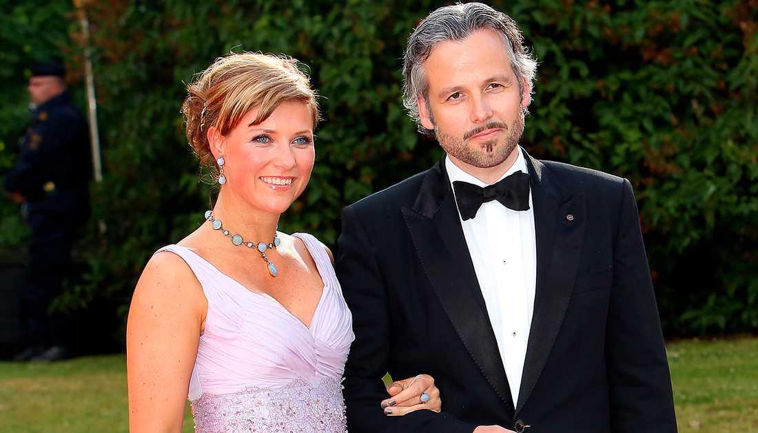 Ari Behn tillsammans med exfrun Märtha Louise, prinsessa av Norge.