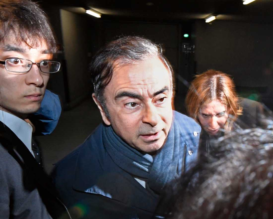 Nissans tidigare chef Carlos Ghosn.