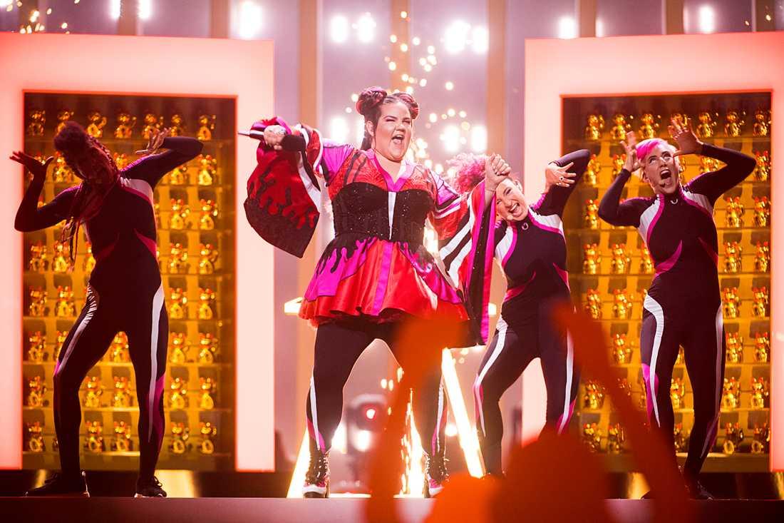 Israel vinner Eurovision i år enligt Spotify.