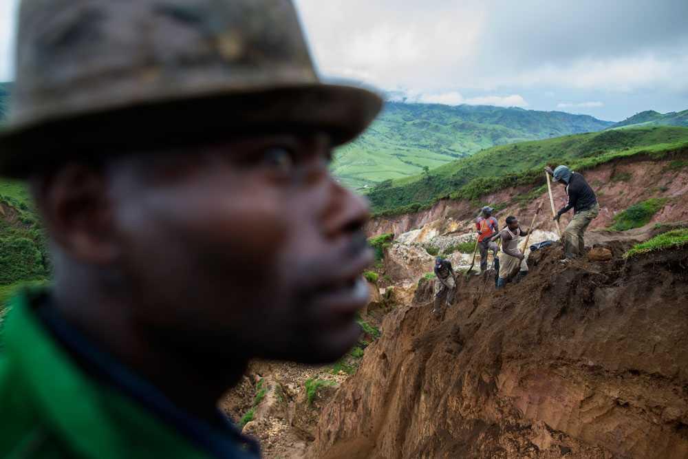 NICLAS HAMMARSTRÖM Arbetet i gruvorna är mycket farligt och många arbetare dör eller skadas varje år.