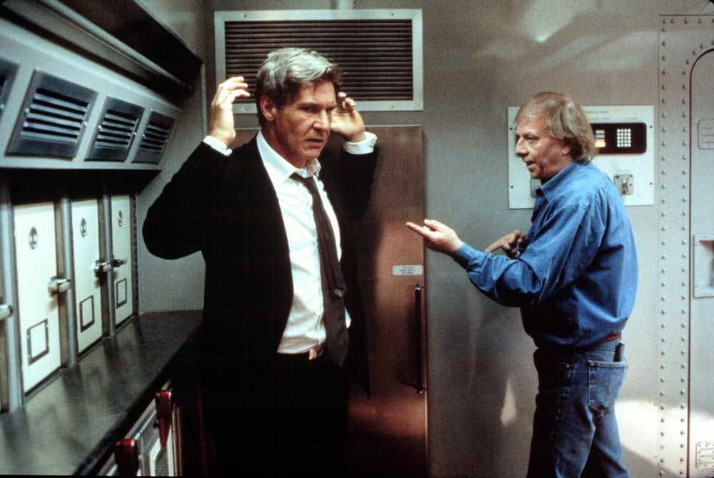 "Harrison Ford hade inte tid med Nöjesbladets Magnus Sundholm under inspelningen av ""Air force one"" 1996."