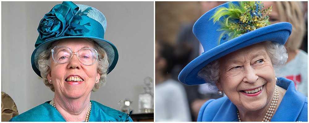 Vem är vem? Ella Slack till vänster är drottning Elizabeths ersättare vid stora event.