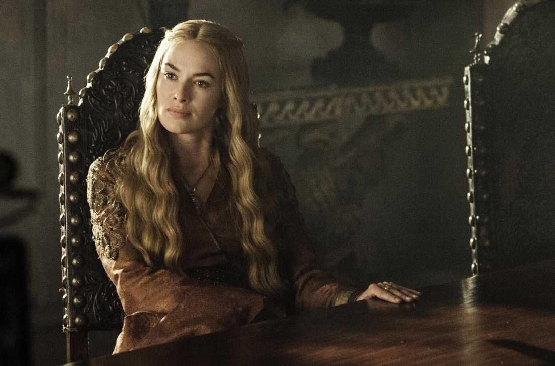 Cersei Lannister, spelas av Lena Headey