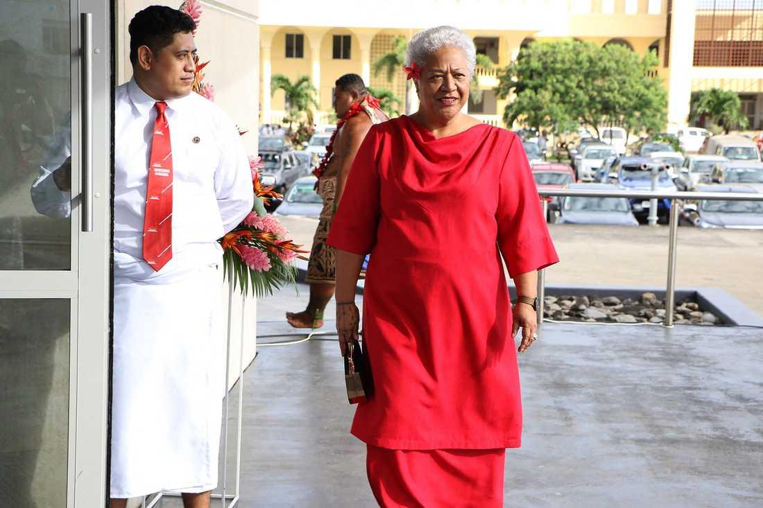Fiame Naomi Mata'afa har brutit många tabun i Samoa – och nu kan hon bli önationens första kvinnliga premiärminister.