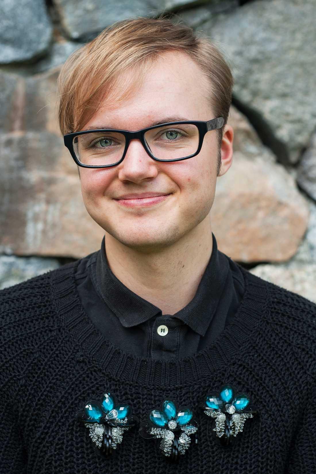 Frank Berglund, vice förbundsordförande för RSFL.