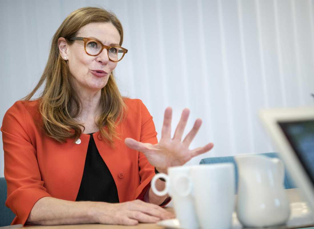 Birgitte Bonnesen, Swedbanks koncernchef, var tidigare under karriären ansvarig chef för bankens baltiska verksamhet 2011–2014. Arkivbild.