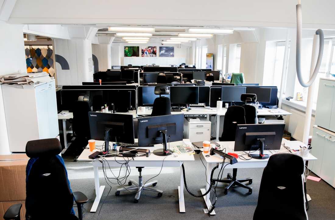 Coronaviruset har lett till att många kontor idag står tomma. Och verksamheterna fortsätter fungera precis som vanligt ändå.