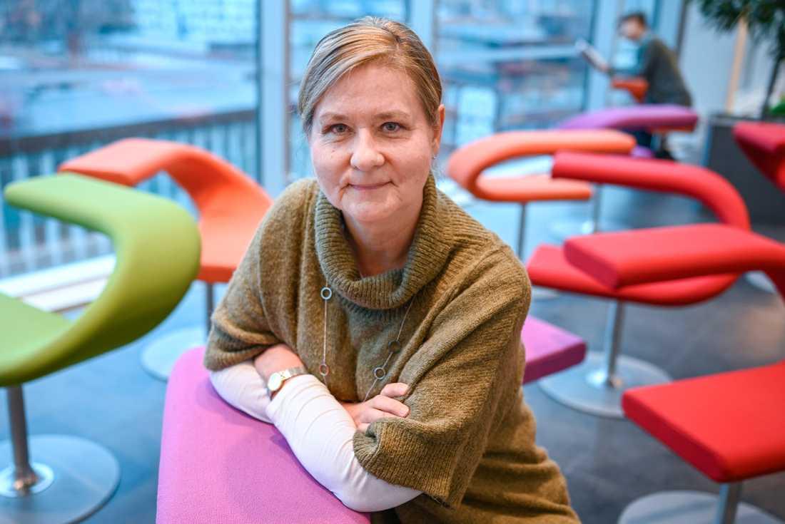 Annelie Björkhagen Turesson, doktor i socialt arbete vid Malmö universitet.