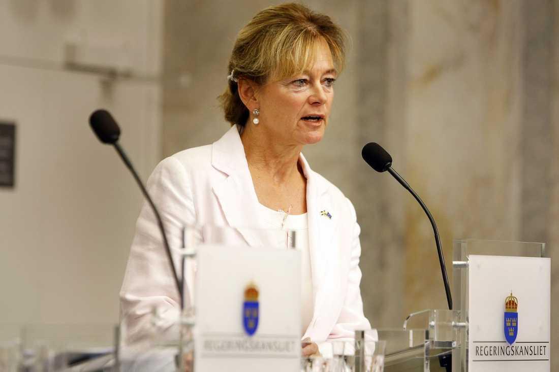 Lena Adelsohn-Liljeroth, (m) Kultur- och idrottsminister.