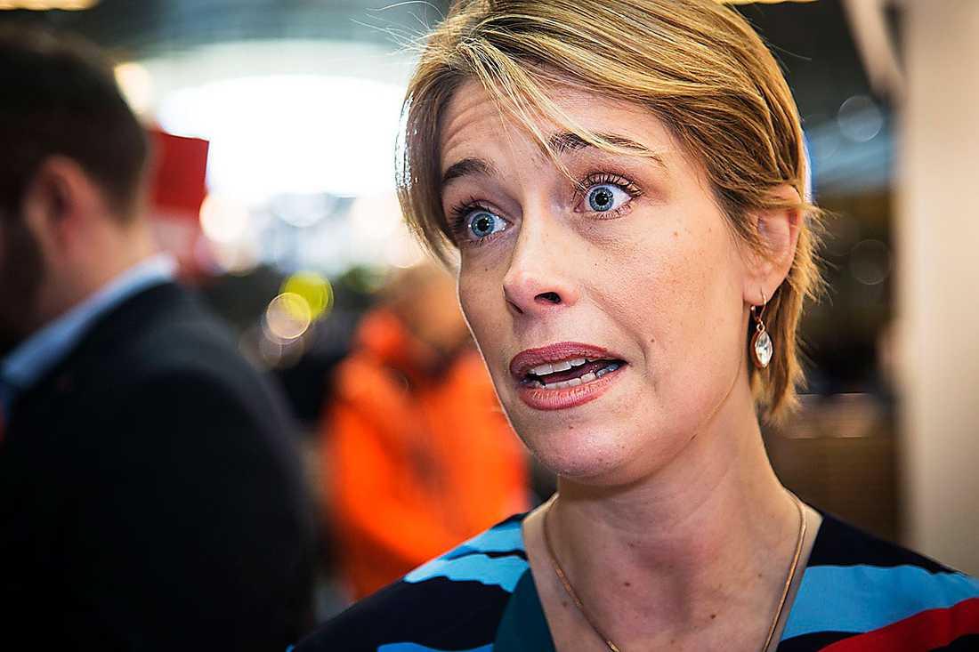 Annika Strandhäll (S), socialförsäkringsminister. Betyg: 2,4 (Oförändrat)