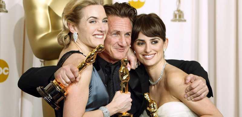 Kate Winslet, Sean Penn och Penélope Cruz.