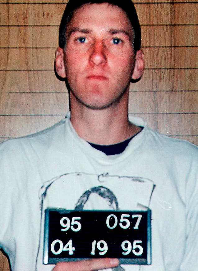 Timothy McVeigh dödade 168 människor i bombattentatet i Oklahoma city 1995.