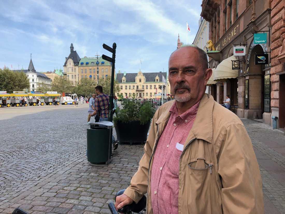 """""""Jag är för allt lokalt. Det gillar jag helt klart"""", säger Tom Engelberg."""