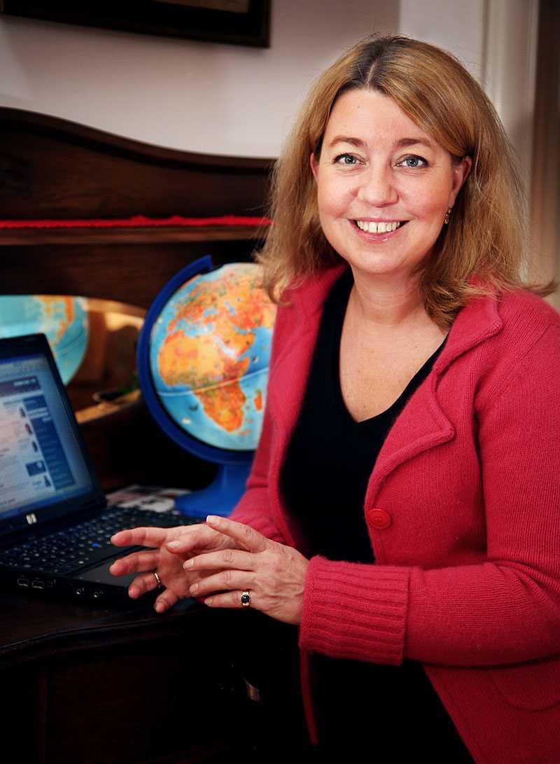 Annika Creutzer, chefredaktör på pengar24.se.