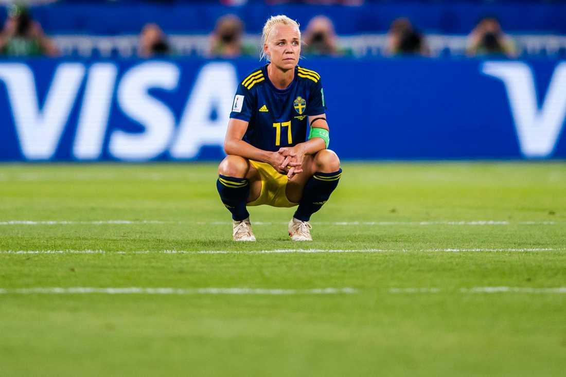 Seger var förkrossad efter semifinalförlusten.