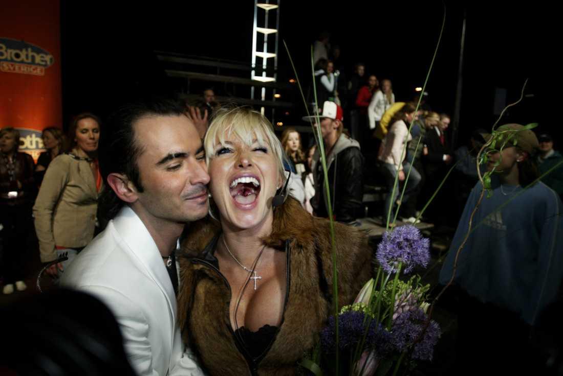 """Mest kända """"Big brother""""-vinnaren genom åren är Carolina Gynning, som segrade 2004."""