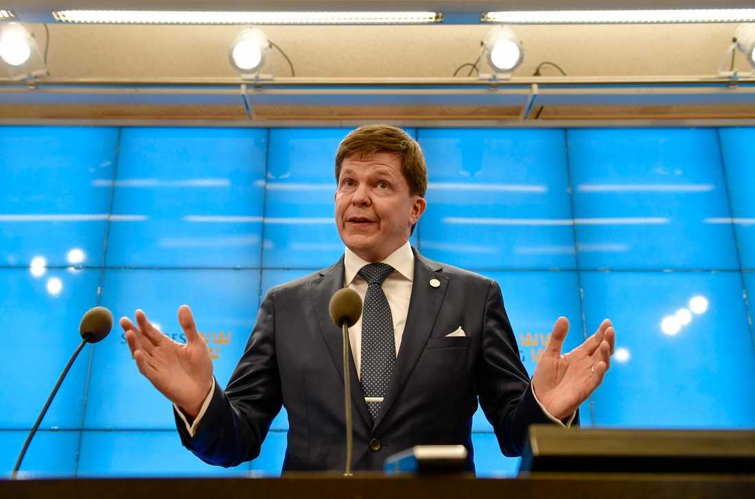Riksdagens talman Andreas Norlén. Arkivbild.