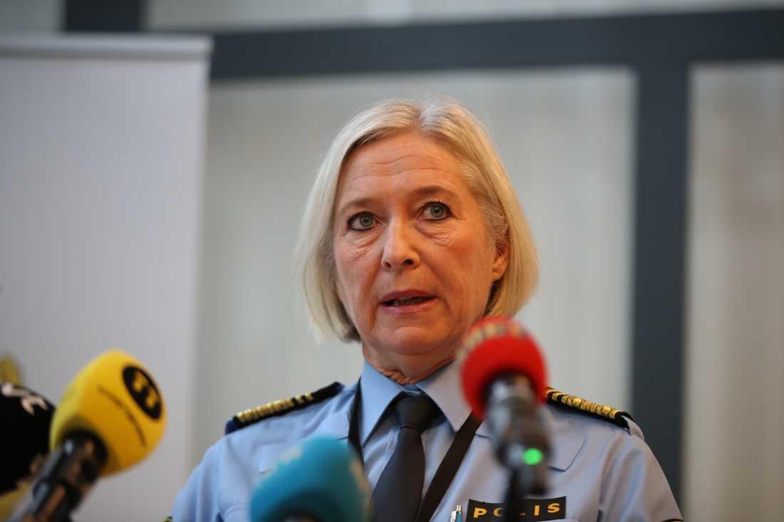 Malmöpolisen håller pressträff efter mordet på Jaffar, 15