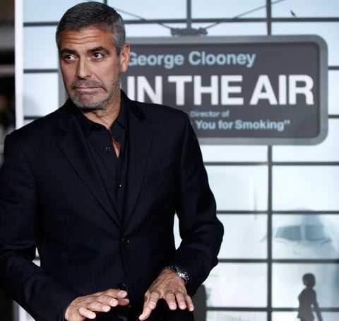 "George Clooneys ""Up in the air"" kan ta hem flera priser."
