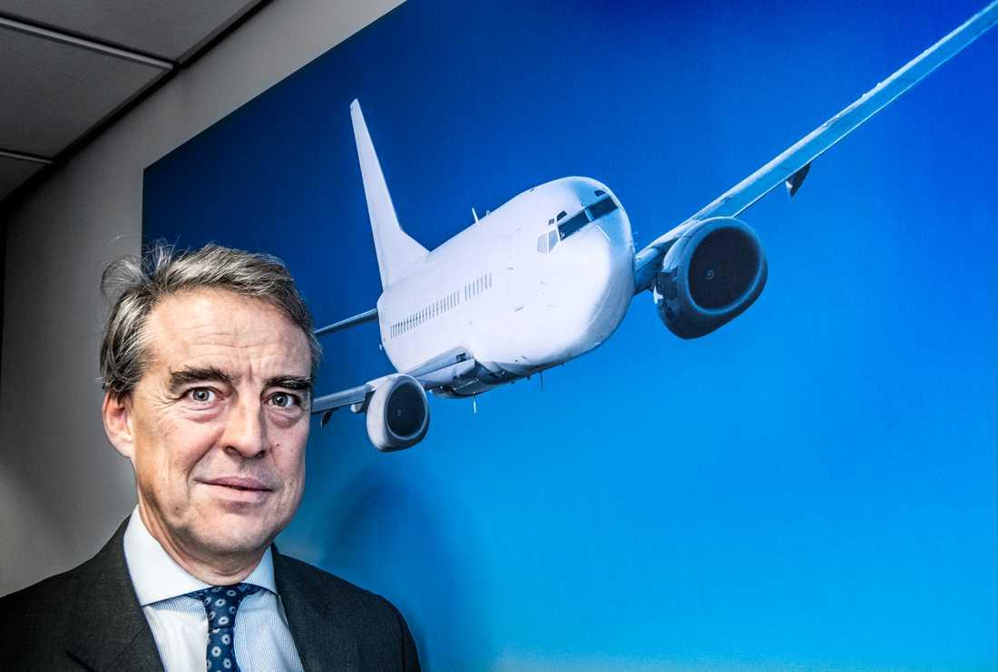 IATA-chefen Alexandre de Juniac. Arkivbild.