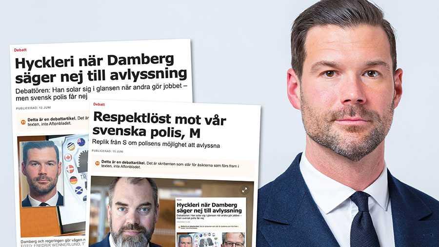 Varje slag mot den svenska organiserade brottsligheten kan inte ske inom ramen för internationellt samarbete Polisen måste ha tekniska och juridiska verktyg också till egna operationer. Slutreplik från Johan Forssell.