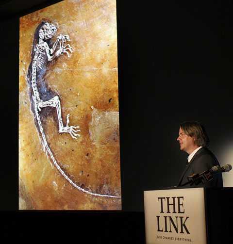 Har lett teamet bakom ida Norske Jørn Hurum, professor och fossilexpert från Norge.