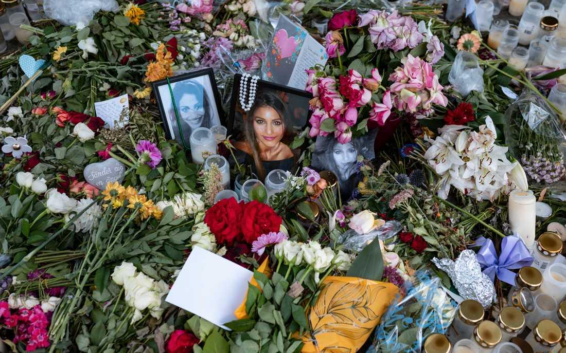 Minnesplats för Karolin Hakim efter mordet