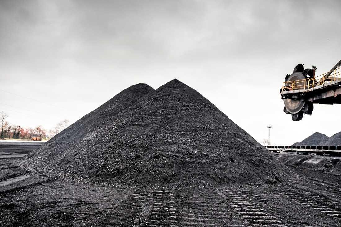 Polen meddelade nyligen att landets kolgruvor ska stängas senast 2049. Arkivbild.