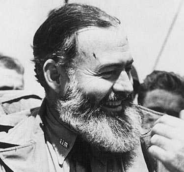 Författare är en annan yrkesgrupp väl representerad i skäggvärlden. Hemingway bar sin tids mest välformade.