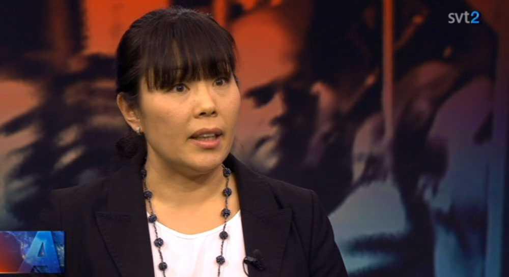 Säpos chefsanalytiker Ahn-Za Hagström.