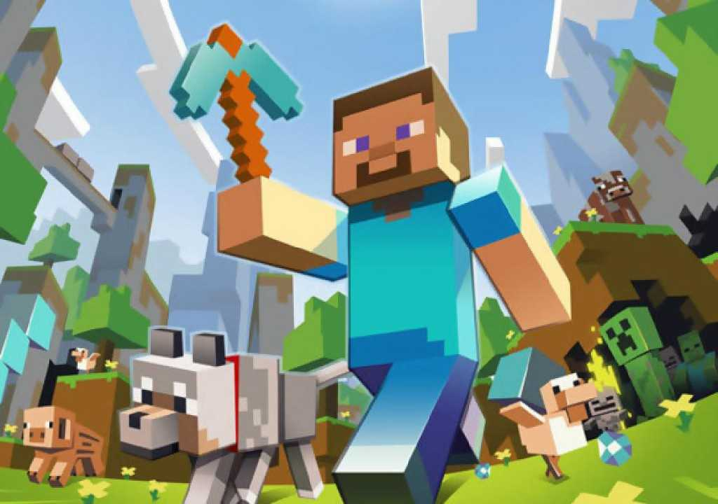 """Omslaget till Xbox 360-versionen av svenska Mojangs """"Minecraft""""."""