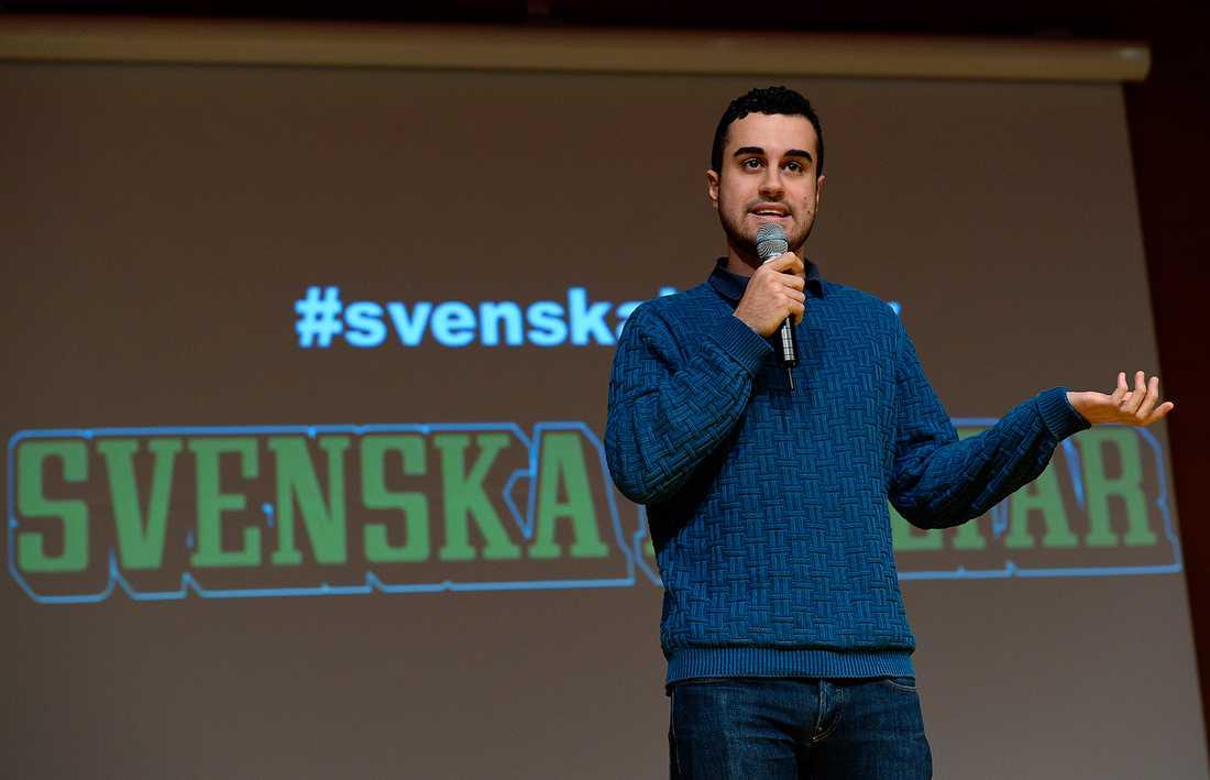 Isak Hardo blev hjälte 2010 och stod på scen i både Ö-vik och Kramfors.