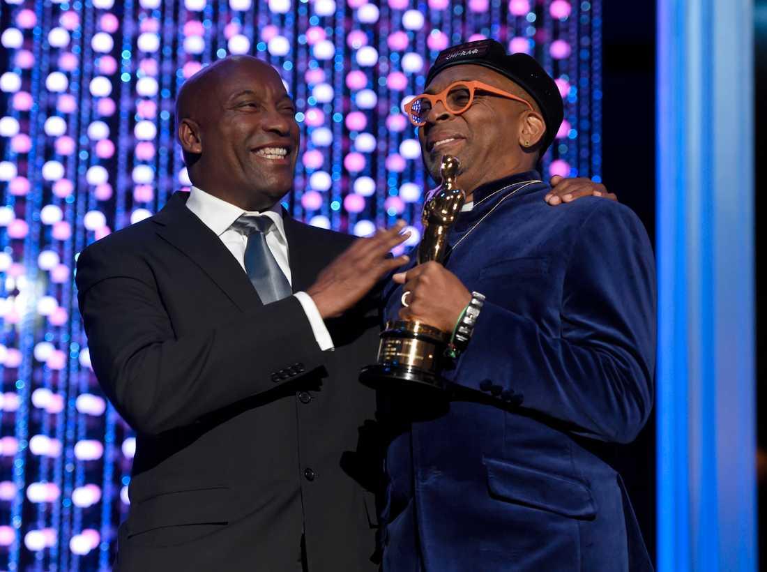 John Singleton fanns närvarande när Spike Lee fick sin heders-Oscar härom året.