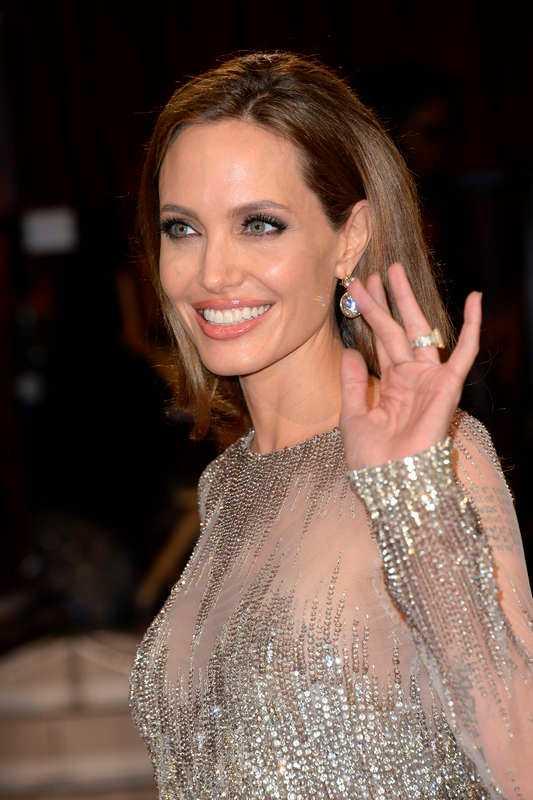 Angelina Jolie, amerikansk skådespelare.