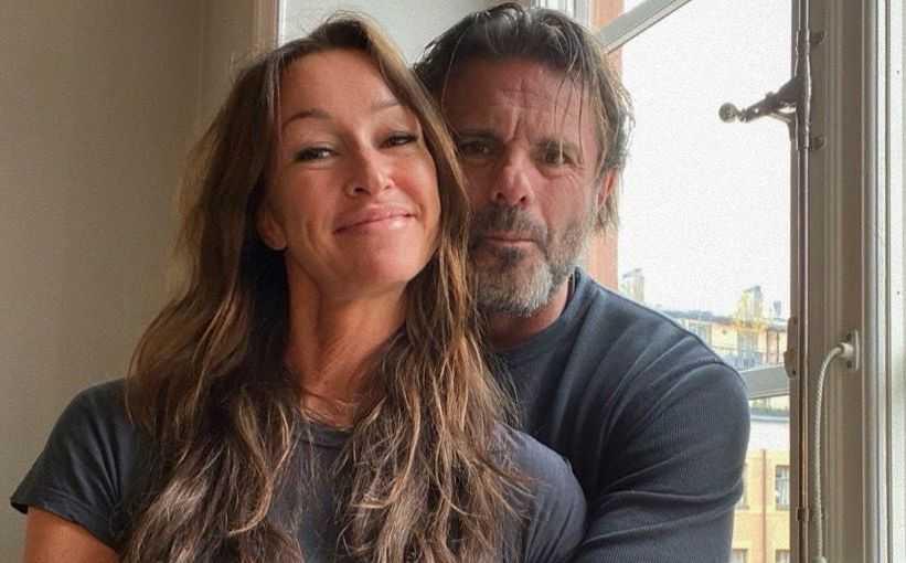 """Robinson""-profilen Raymond Ahlgren har hittat kärleken i Lisa Lindkvist."