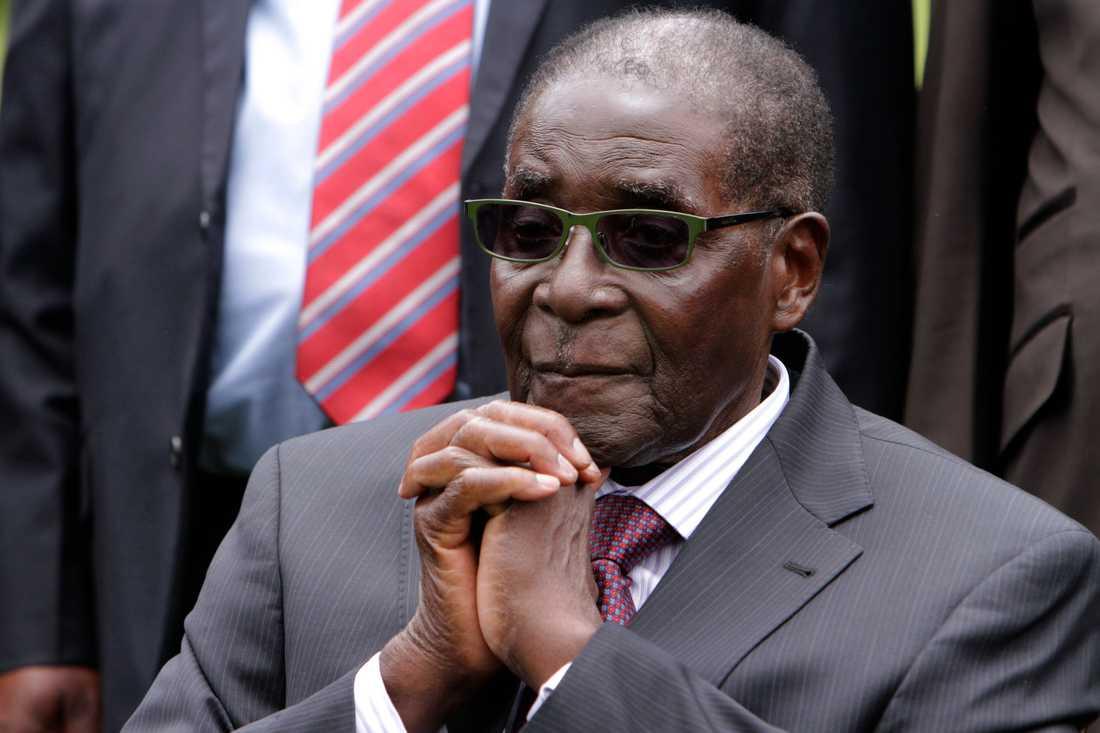 Robert Mugabe blev 95 år.