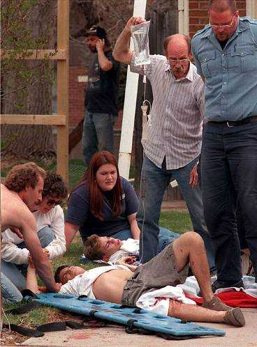 Massakern vid Columbine highschool kostade 12 människors liv.