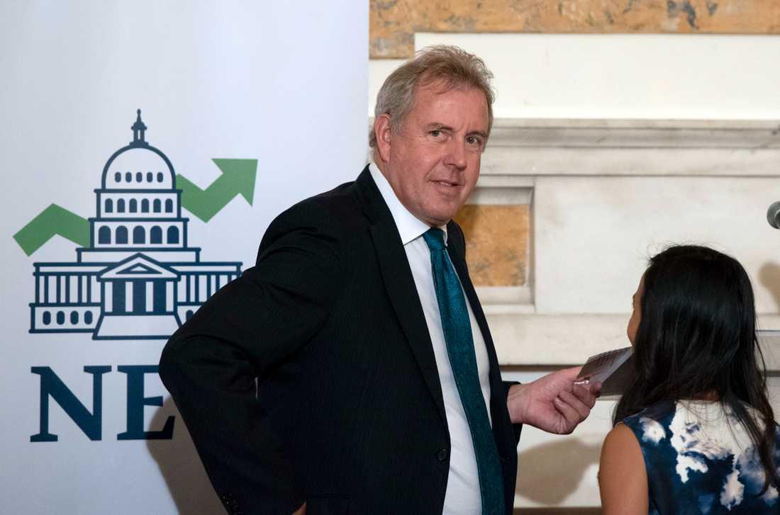 Brittiske ambassadören Sir Kim Darroch.