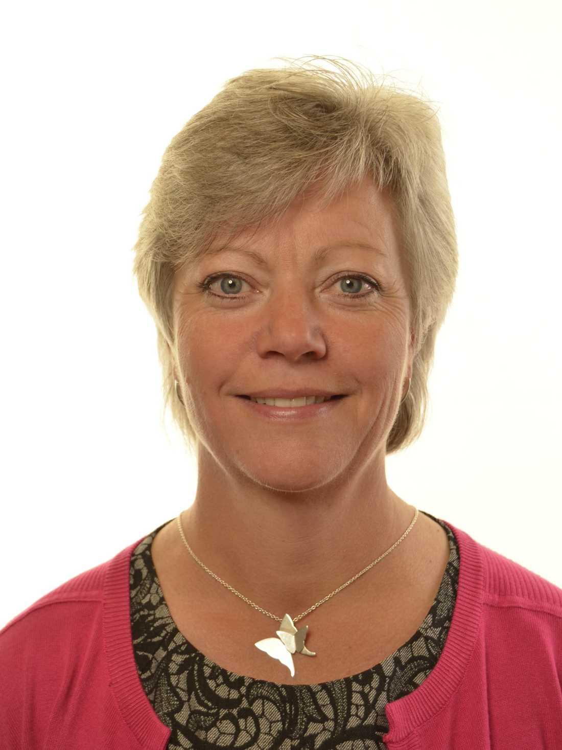 Annika Qarlsson, jämställshetspolitisk talesperson (C).
