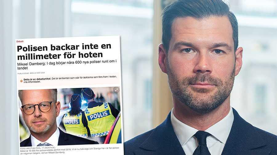 Det vore klädsamt att ta ansvar och erkänna sina tillkortakommanden. Sedan 2014, då regeringen tillträde, har polistätheten sjunkit och antalet poliser som väljer att lämna yrket i förtid ökat kraftigt. Replik från Johan Forssell.
