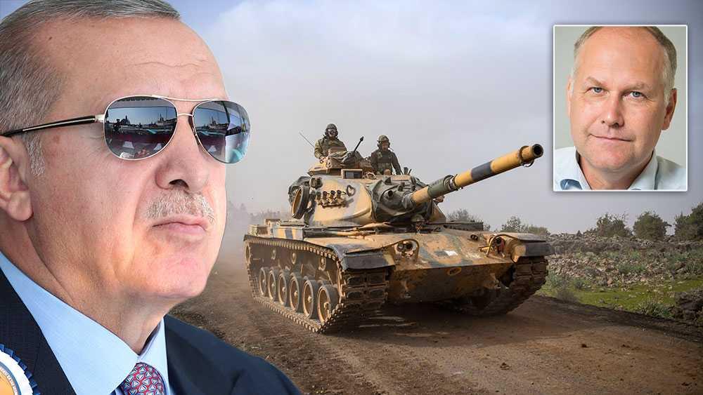Om Turkiets stridsvagnar rullar in i norra Syrien finns risken att IS-fångarna kan komma undan och att terrorsekten växer igen. Ska omvärlden verkligen tolerera det? Vi menar att omvärlden måste reagera med kraft, skriver debattörerna.