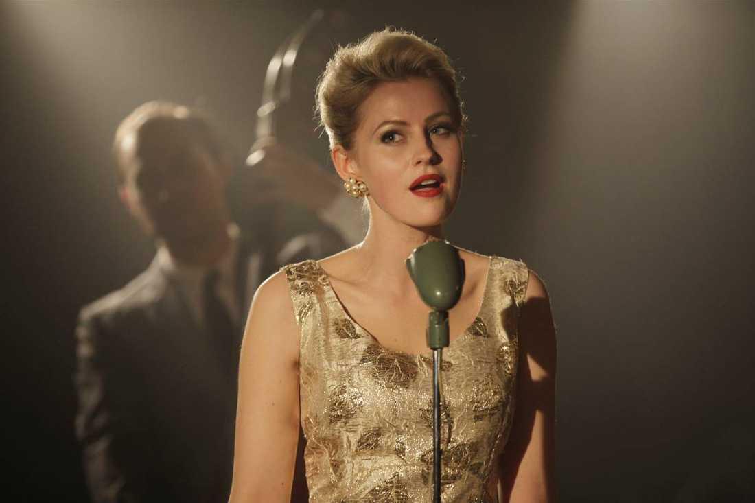 Edda Magnason som Monica Zetterlund i filmen om hennes liv. Nu planerar samma bolag en film om Ted Gärdestad.