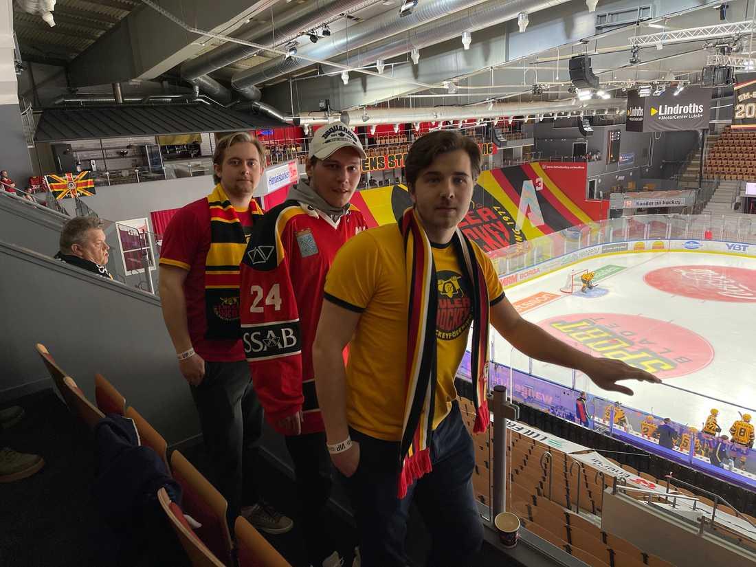 Martin Öhman i mitten.