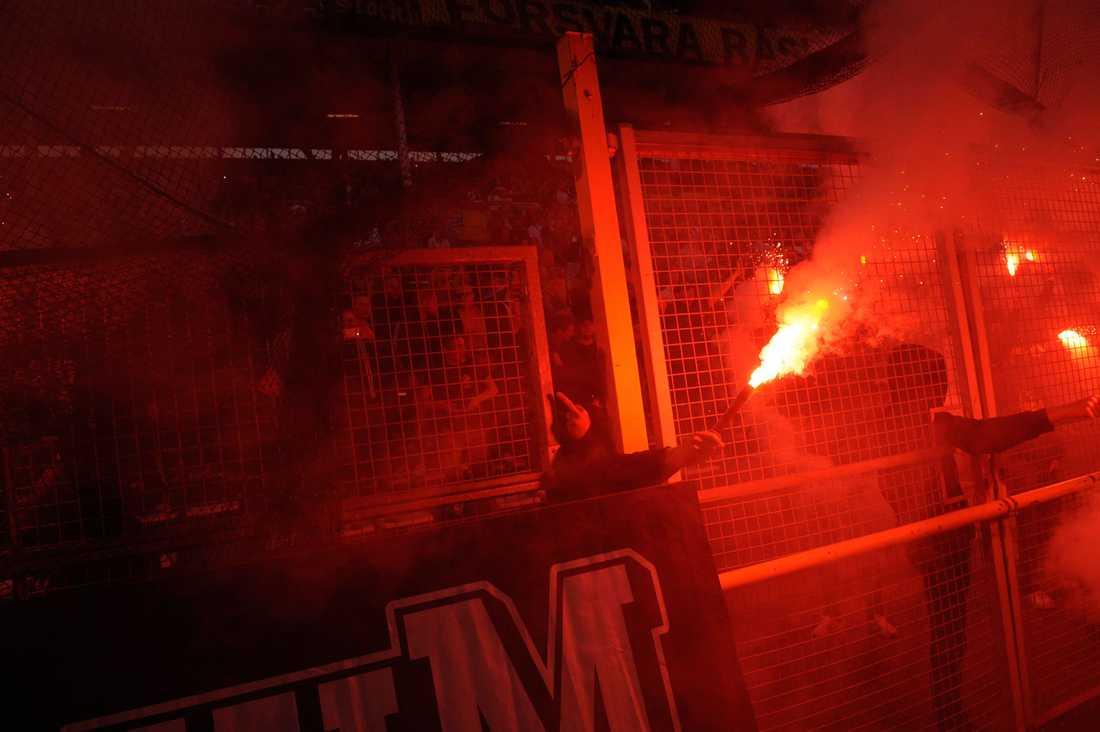 Bengaler tändes under matchen.