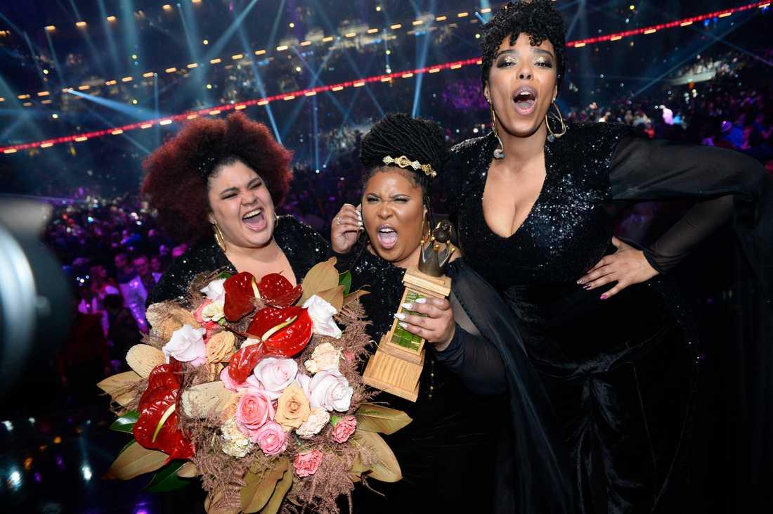 The Mamas vann Melodifestivalen 2020.