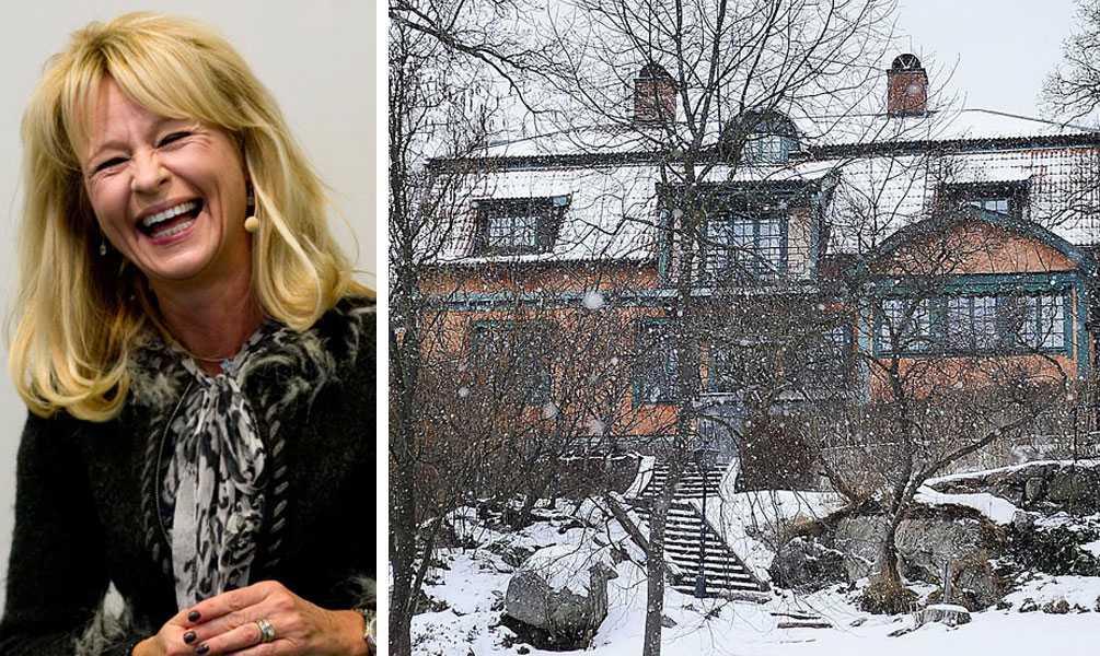 HAR DRAGIT IN 94,7 MILJONER Annika Katarina Falkengren, SEB:s koncernchef sedan 2005. Bor i villa i Djursholm.