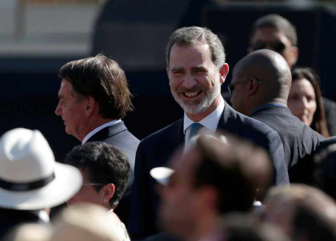 Felipe VI i Uruguay.