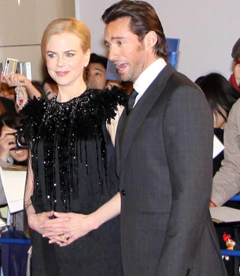 Nicole Kidman och Hugh Jackman.