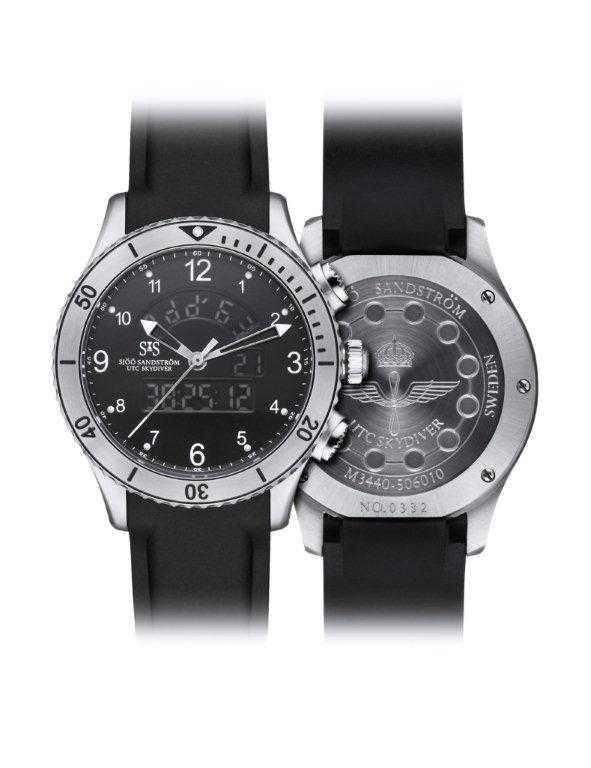 UTC Skydiver Försvarets nya klocka.