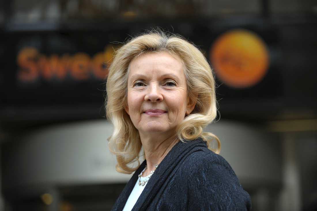 Ylva Yngvesson, privatekonom på Swedbank
